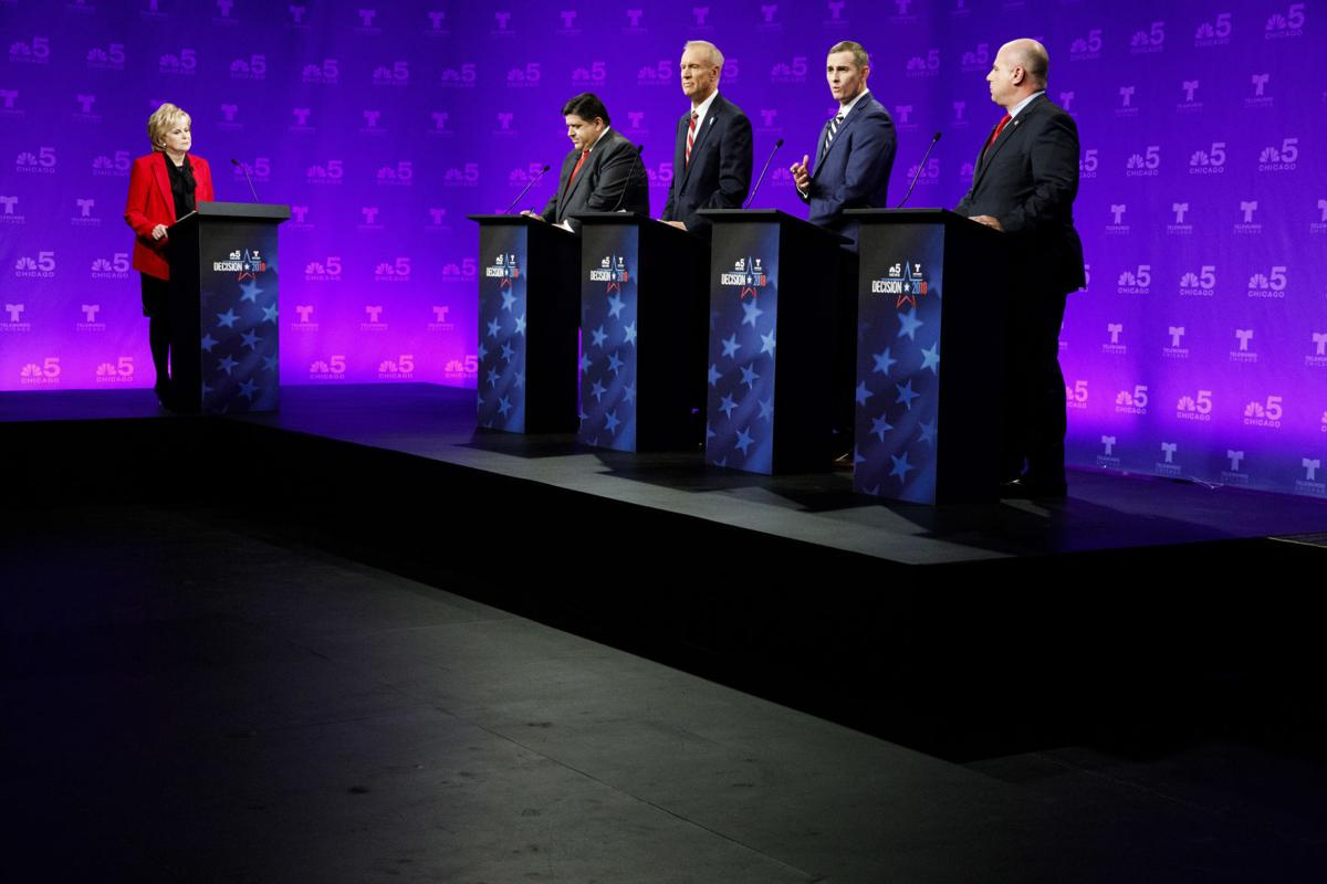 Illinois Governor-Debate