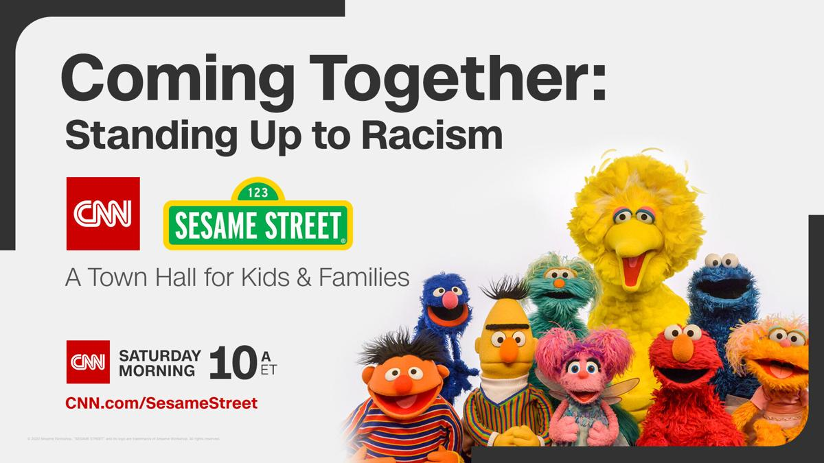 How to watch the CNN and 'Sesame Street' town hall addressing racism