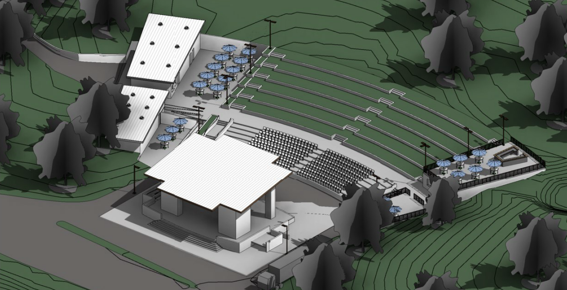 Amphitheater rendering