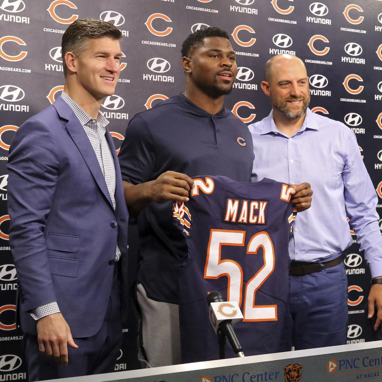 when was khalil mack drafted
