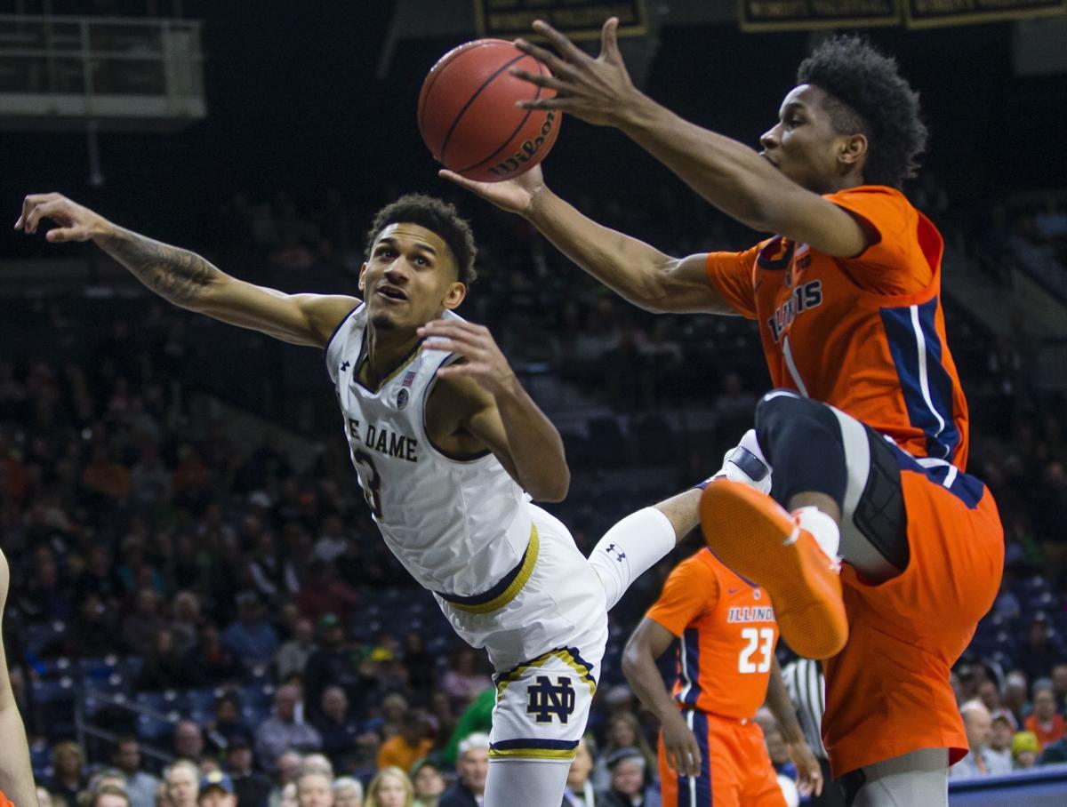 Notre Dame Illinois Basketball