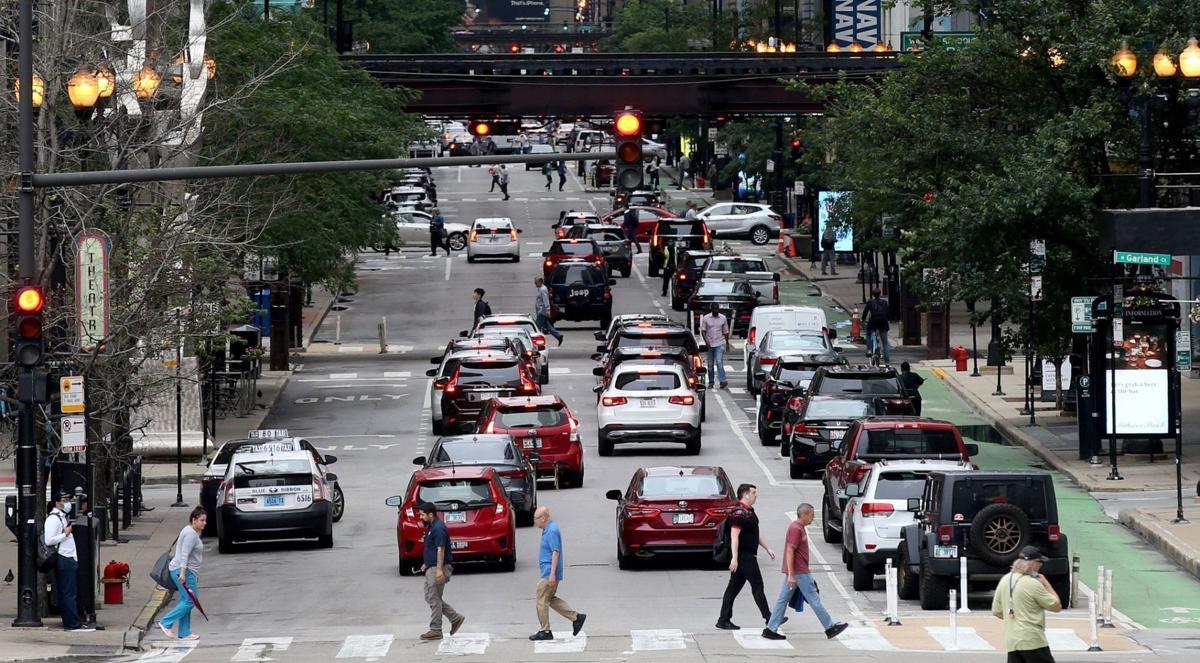 Chicago traffic - file photo