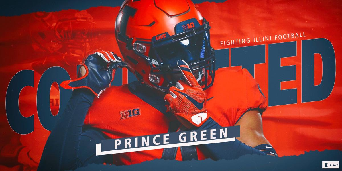 Illinois Football Verbal Commit Prince Green Is A Lifelong Student Of The Game Illini Herald Review Com