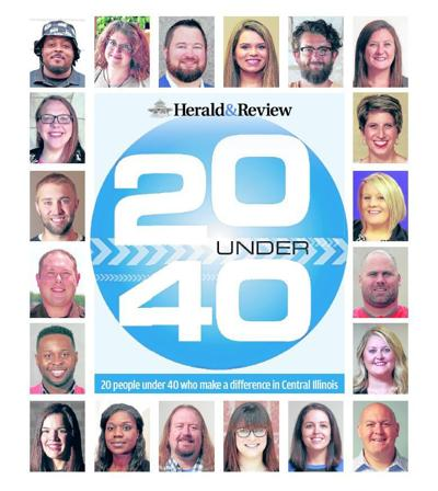 20 under 40 cover