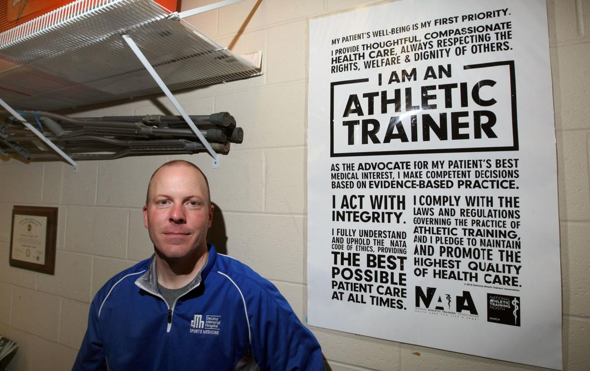 central illinois athletic trainers face hurdles in post