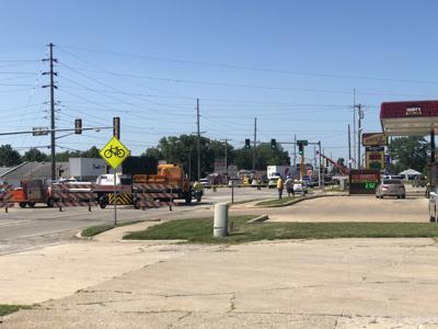 Coroner: Decatur man killed at scene after pickup truck strikes semi