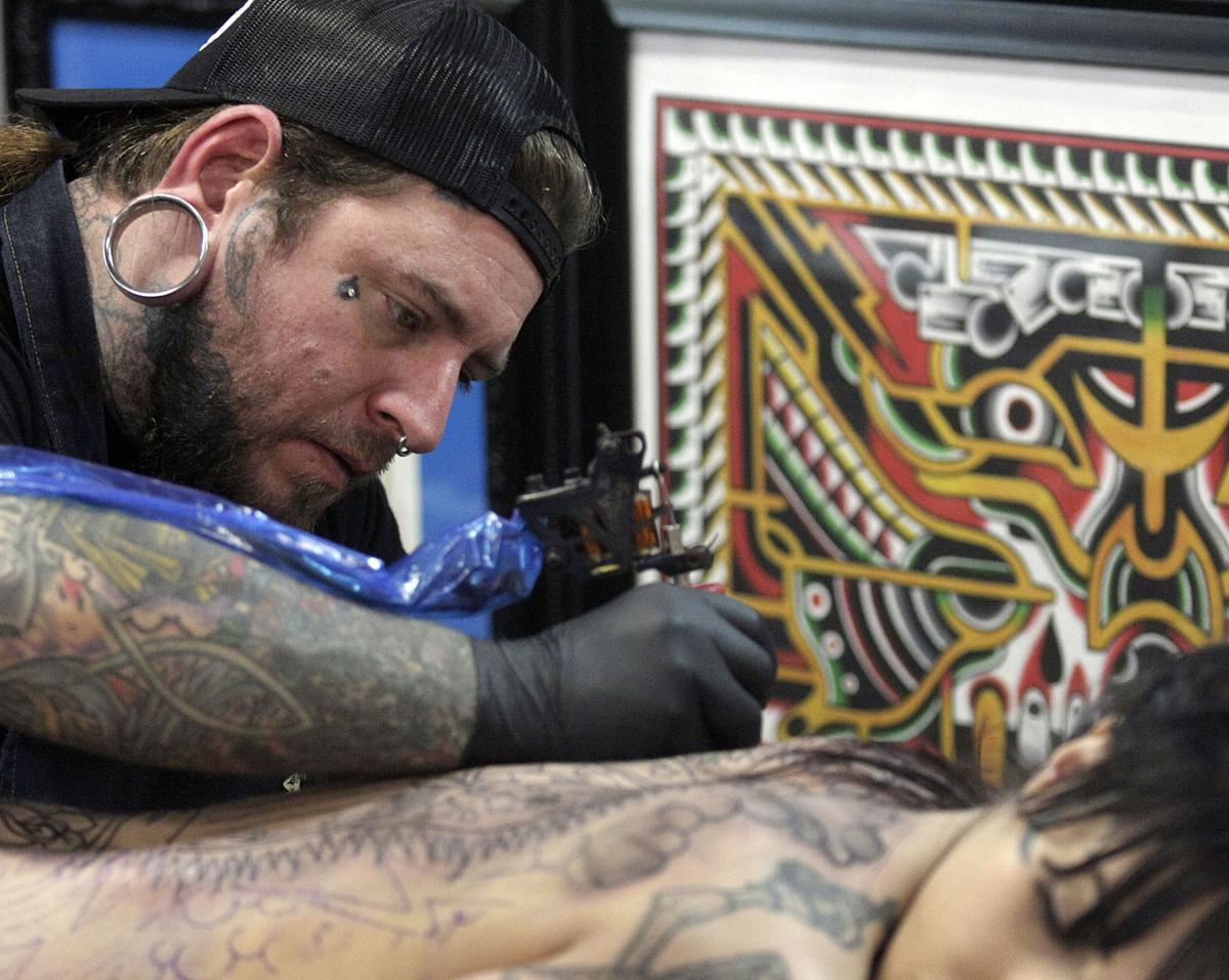 True colors tattoos peeking into mainstream workplace for Oakwood tattoo decatur il