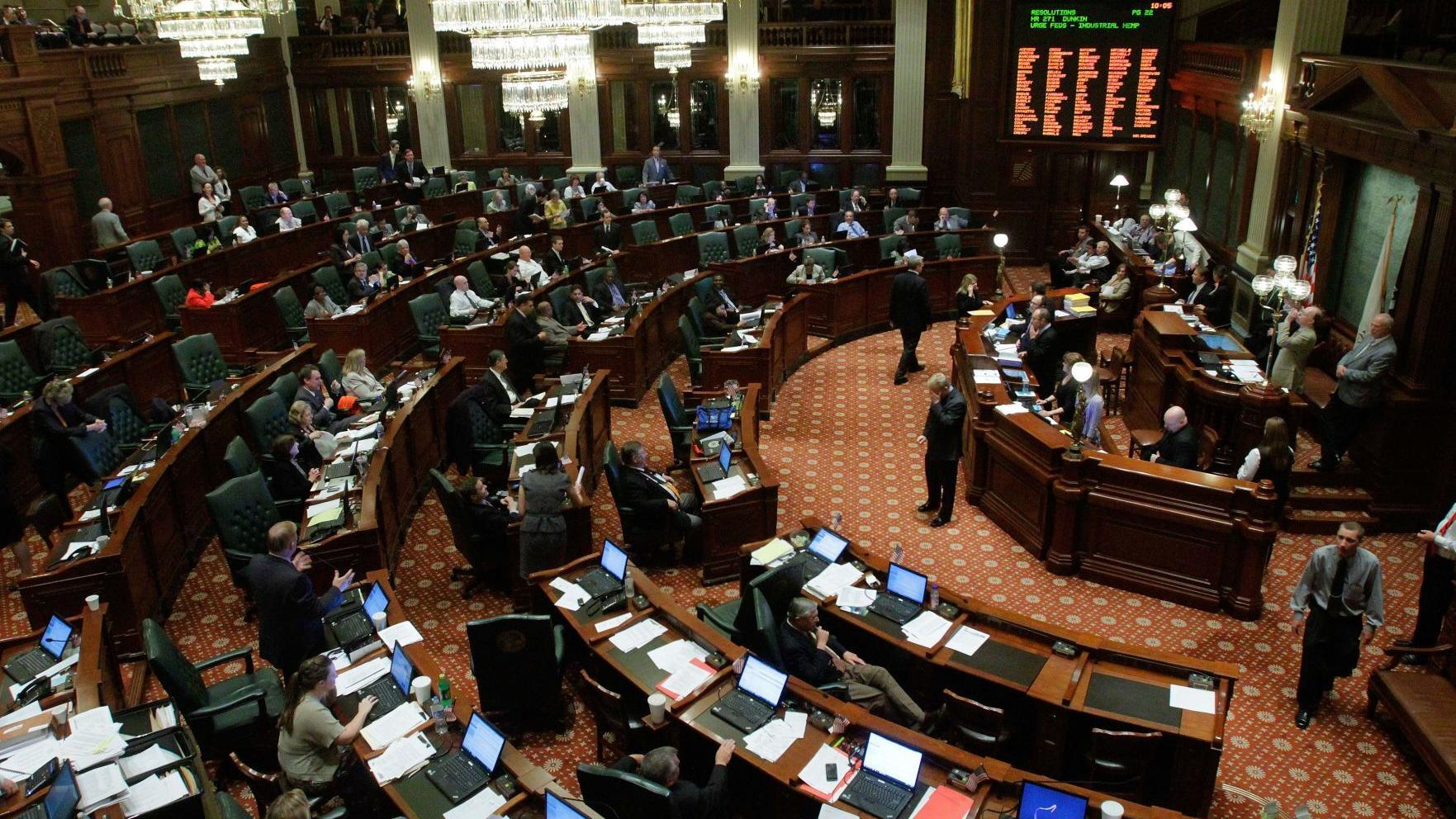 Rich Miller: Paid leave bill still on agenda for the governor