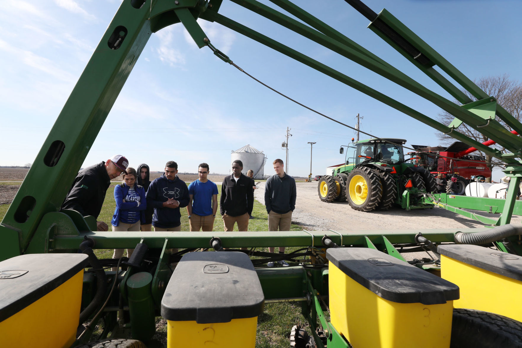 Fertile ground: Decatur high school ag academy students spend their day down on the farm