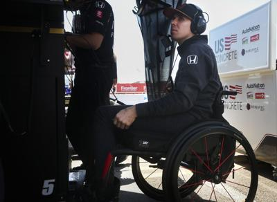 IndyCar Wickens Drives Again Auto Racing