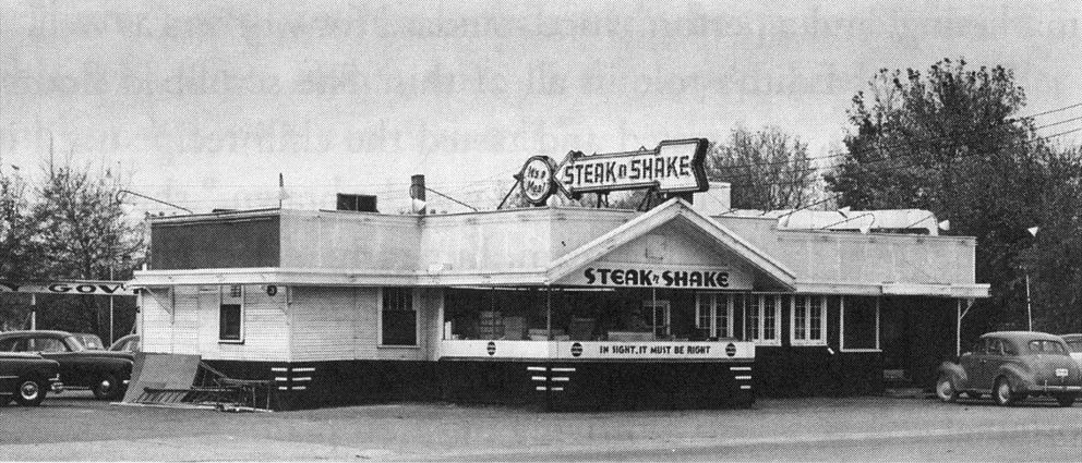 The first Steak 'n Shake