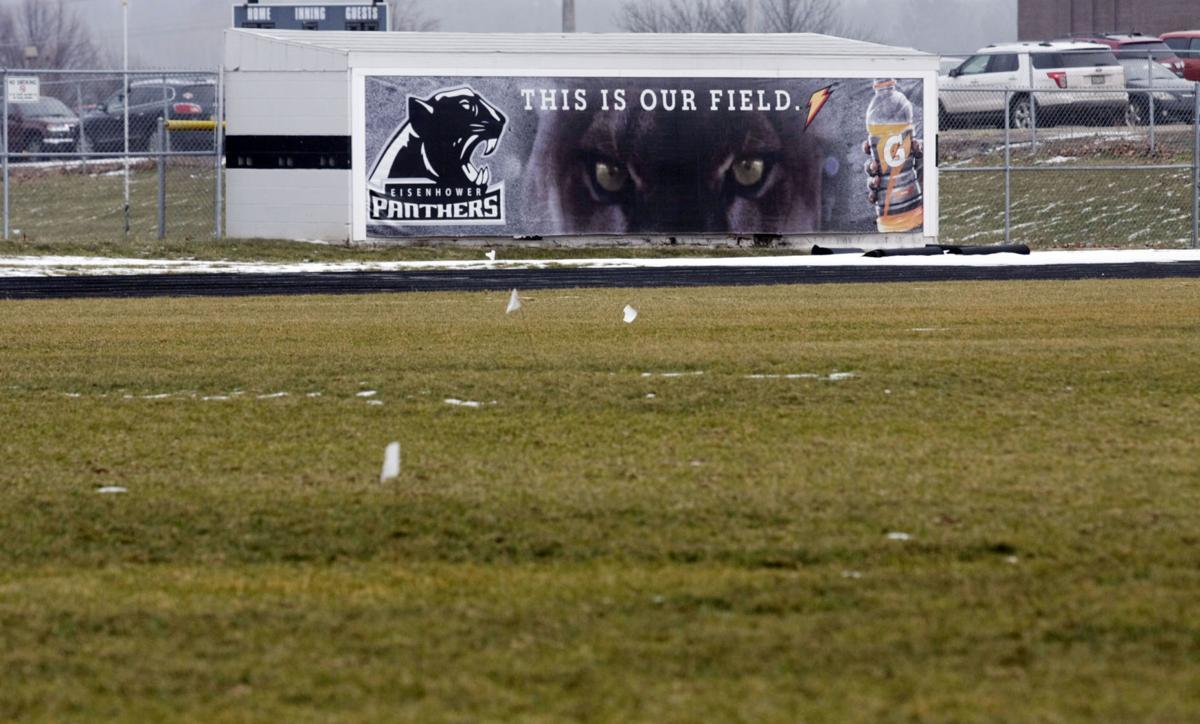 Eisenhower HS football field 3 1.9.18