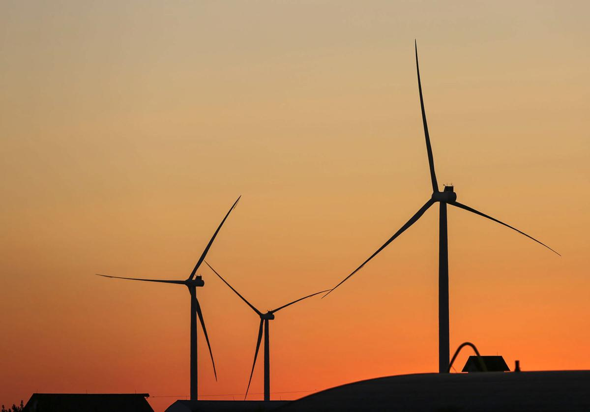 Radford's Run Wind Farm Turbines