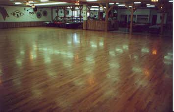 Prairie Land Dance Club's dance floor