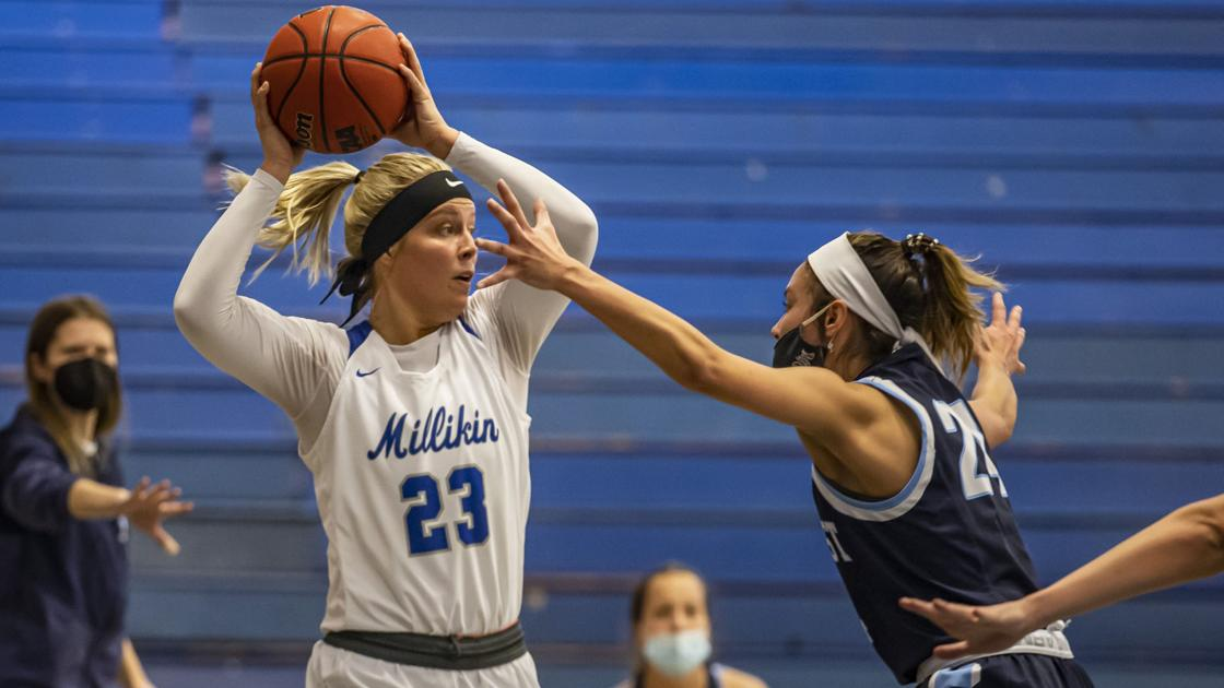 Watch now: Millikin senior Jordan Hildebrand can go out as a champion in CCIW Tournament title game against Illinois Wesleyan