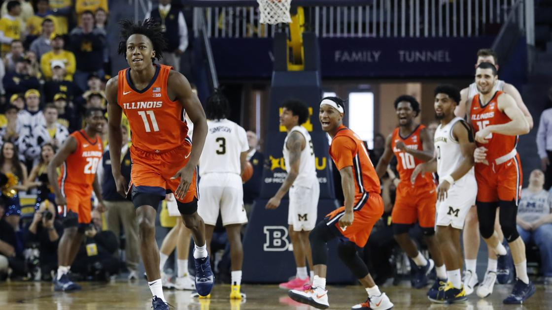 'I believed I was going to make the shot.' Ayo Dosunmu hits game winner for No. 21 Illinois against Michigan