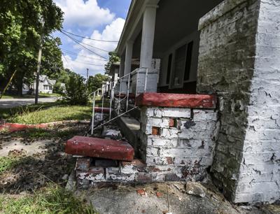 Web-only photo - Neighborhood revitalization project