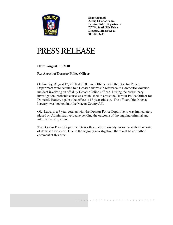 DPD Press Release