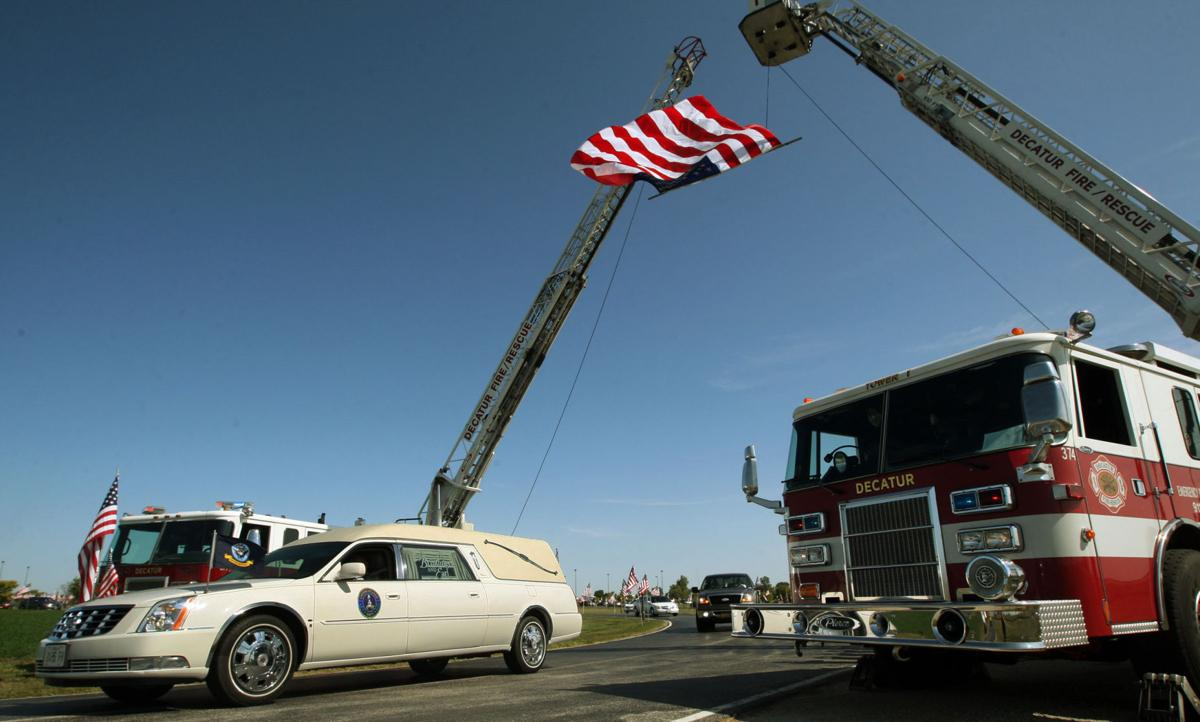 Logan Palmer funeral procession 9.11.17