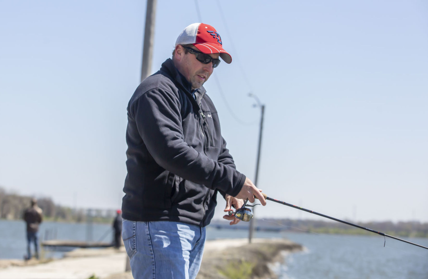 On Lake Decatur, fishing and social distancing meet | Local