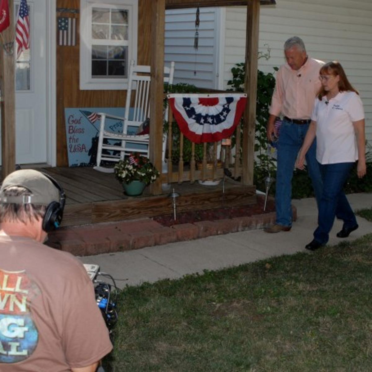 Shelbyville woman's patriotic endeavor lands her on new program for