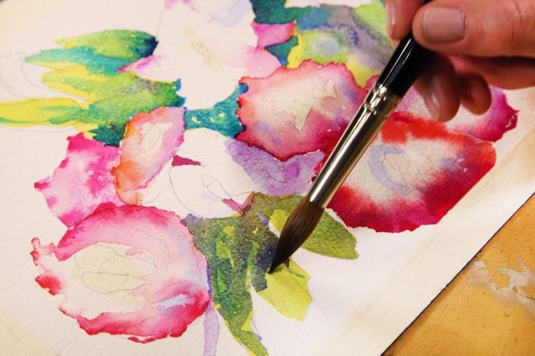 Senior Watercolors Class