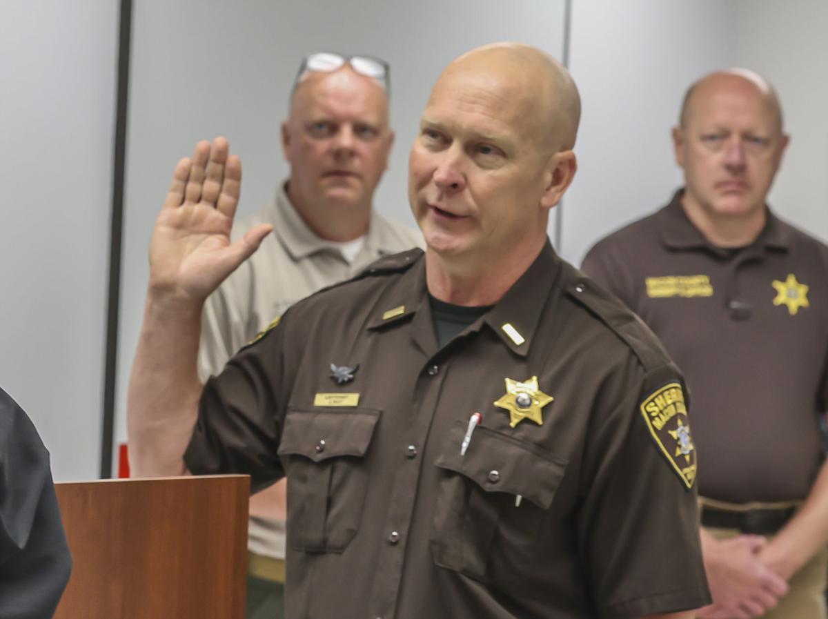 Macon County Sheriff Jim Root