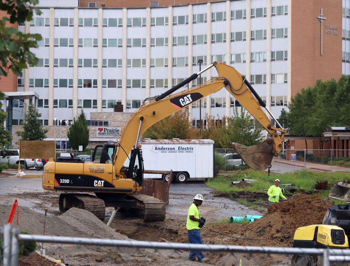 HSHS St Marys Construction 1 8.29.18