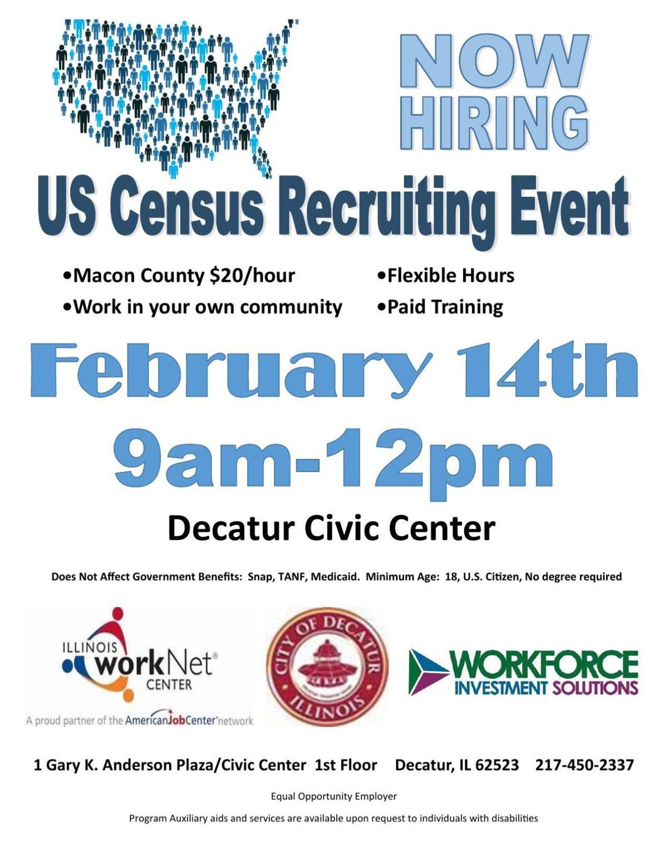 U.S. Census Recruiting Event in Decatur