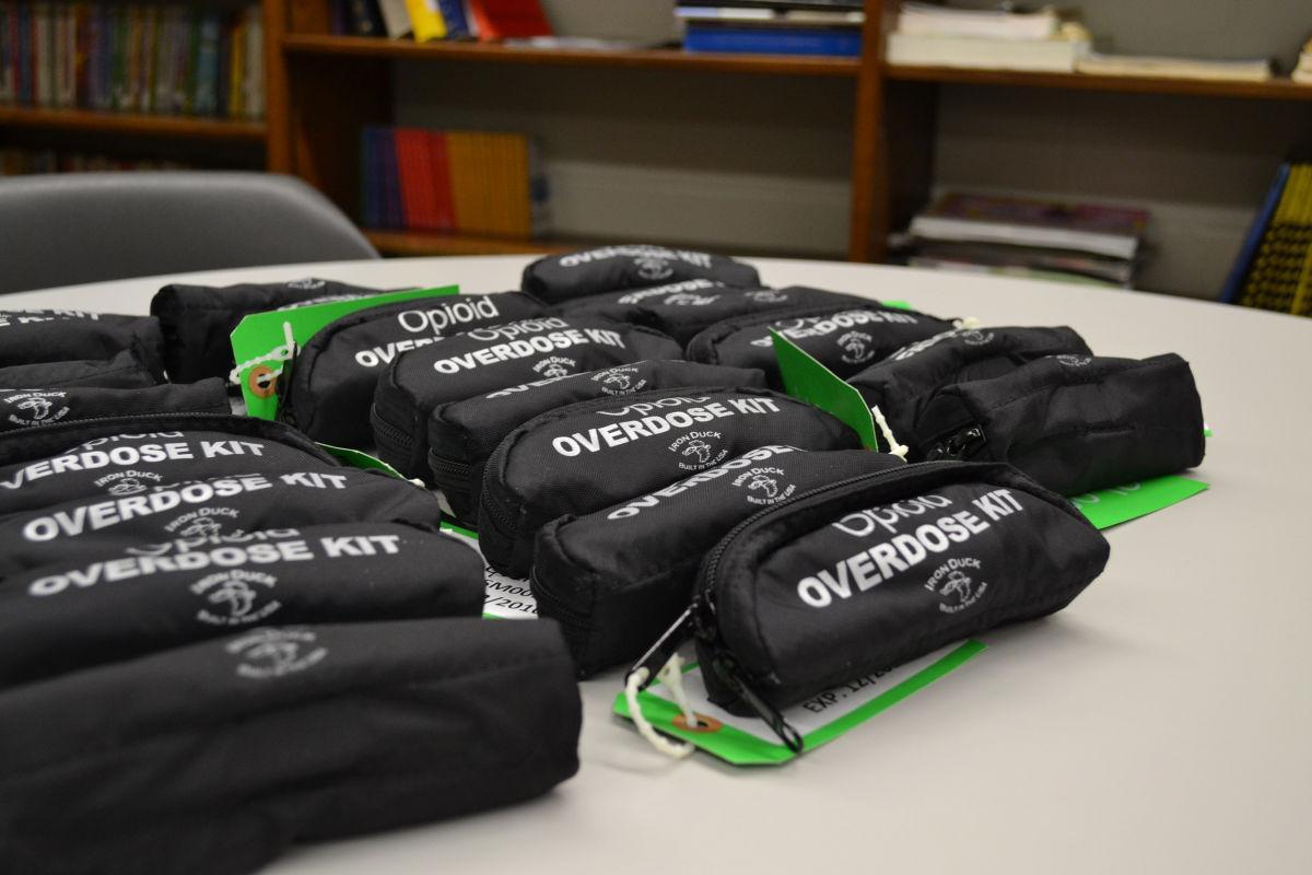 Opioid Overdose Kits - File Photo