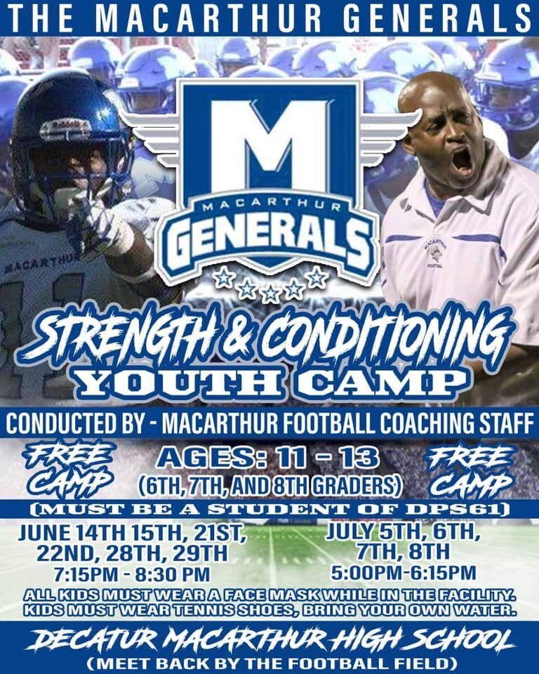 MacArthur coach flyer