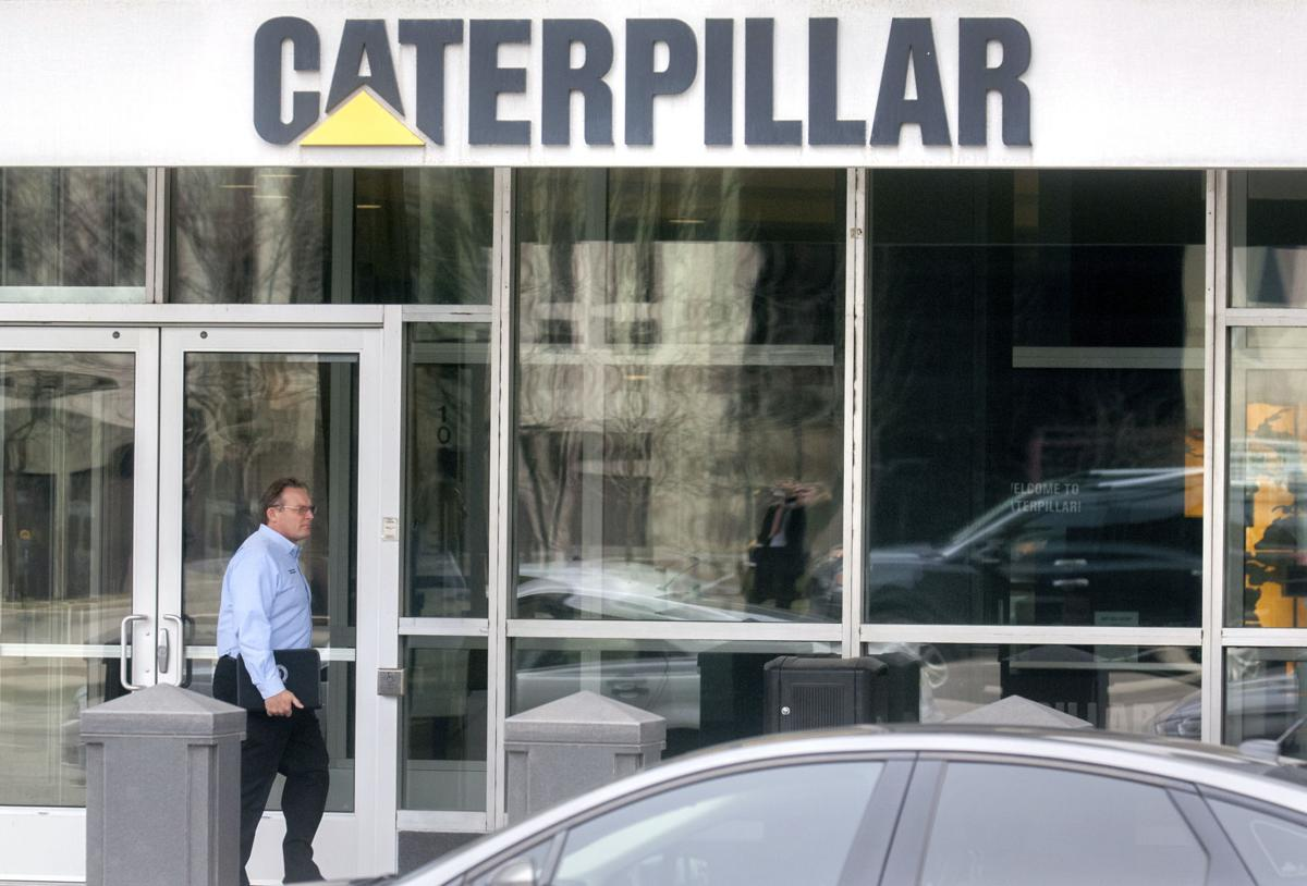 Caterpillar Search Warrant