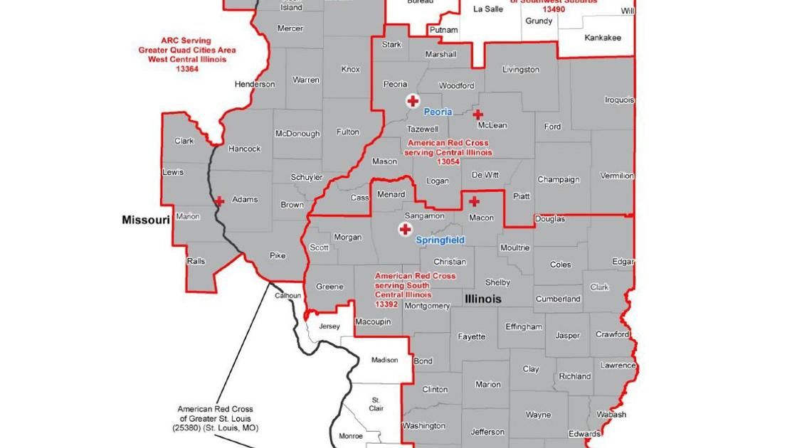 Central and Southern Illinois map | | herald-review.com