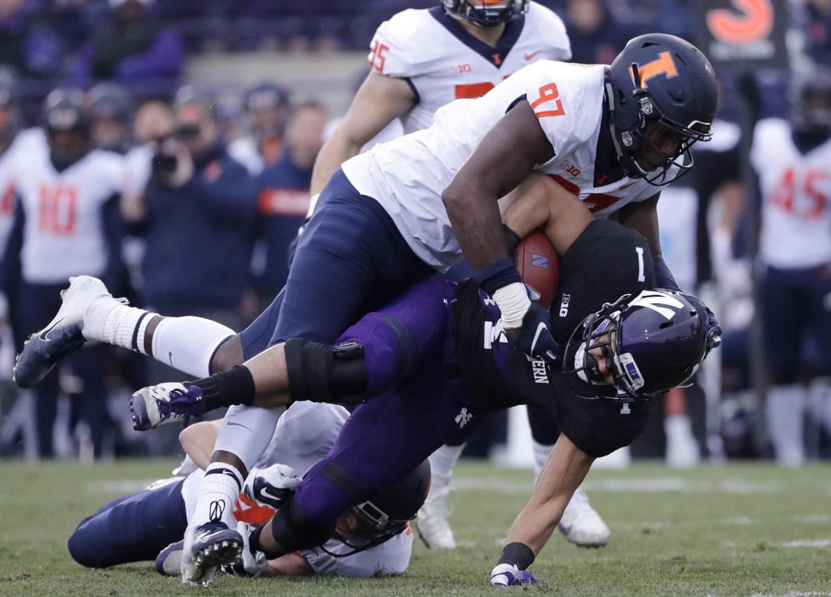 Illinois Northwestern Football
