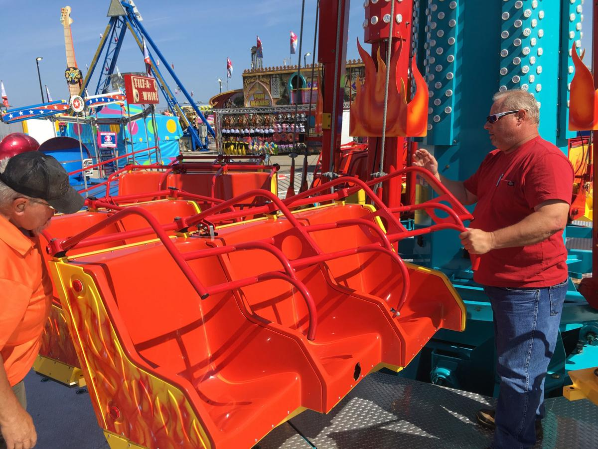 Illinois State Fair Carnival Inspections