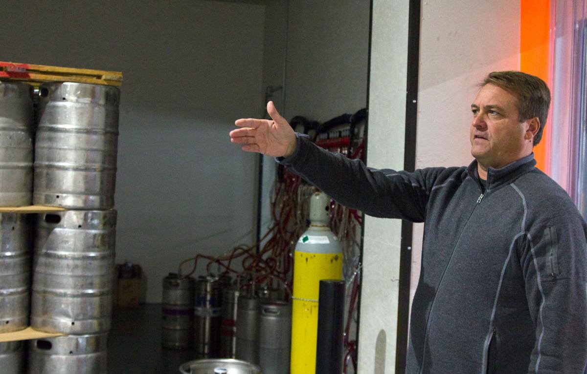Tim Fyke of Door 4 Brewing Co.