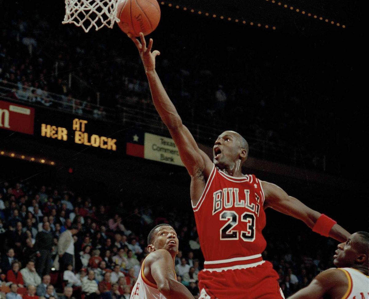b771e5478d52 The Pose. The Flu Game. The Shrug. Michael Jordan s top 56 moments ...