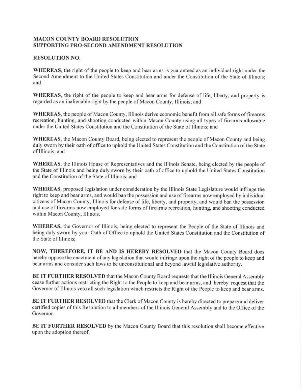 Macon County gun resolution
