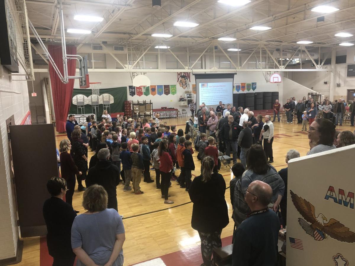 Mount Zion Grade School Veterans Day