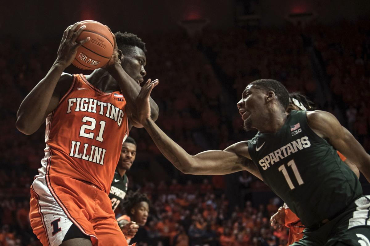 Michigan St Illinois Basketball