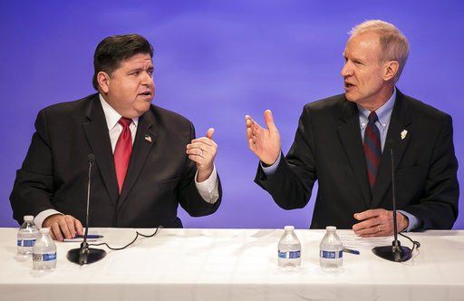 Illinois governor in tough re-election bid after budget woes (copy)