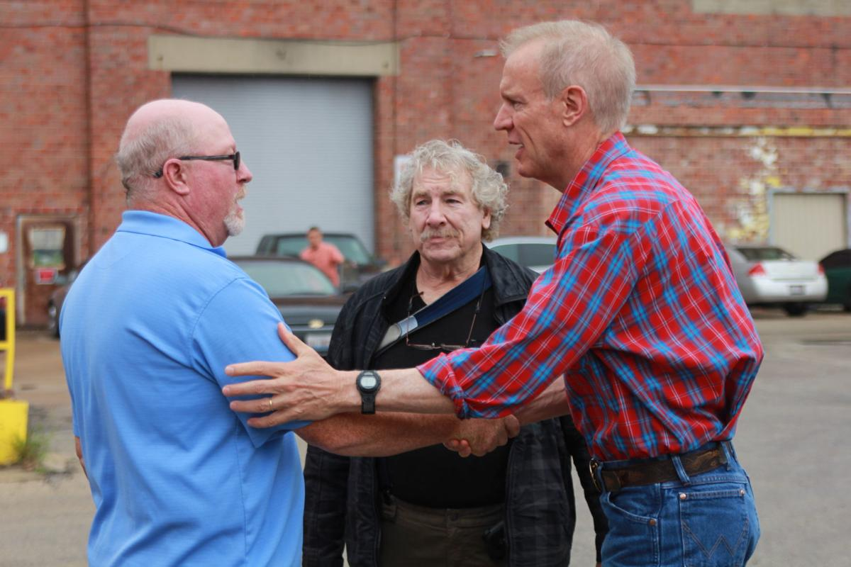 Bruce Rauner at Stripmasters Service Inc.