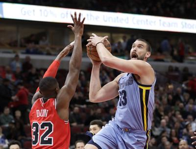 Grizzlies Bulls Basketball