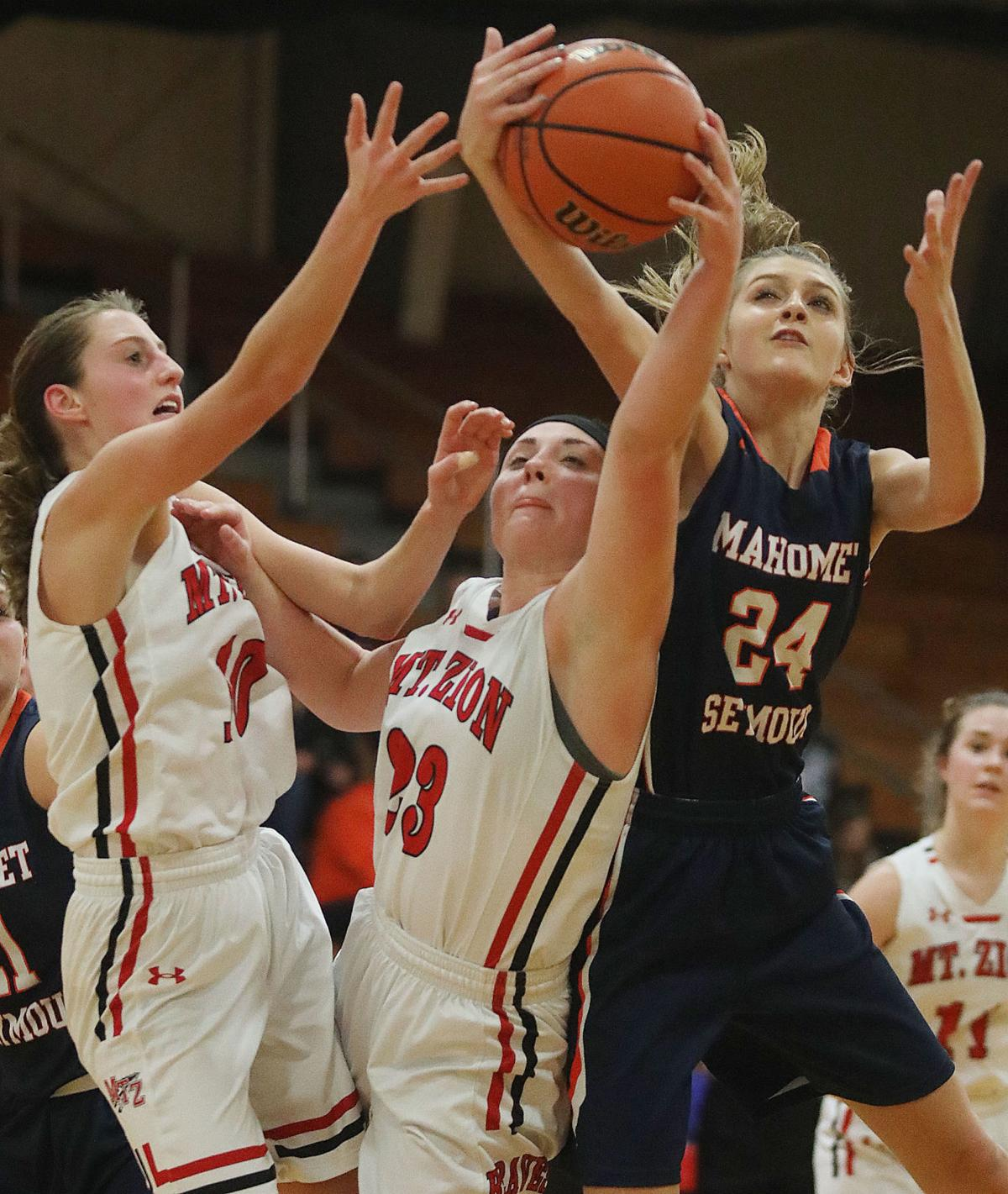 GIRLS BASKETBALL ROUNDUP: Mount Zion defeats Mahomet-Seymour