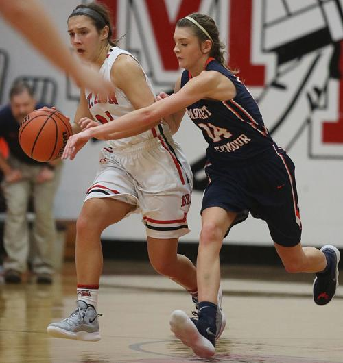 Mount Zion vs Mahomet Seymour girls basketball 3 1 7 19 jpg