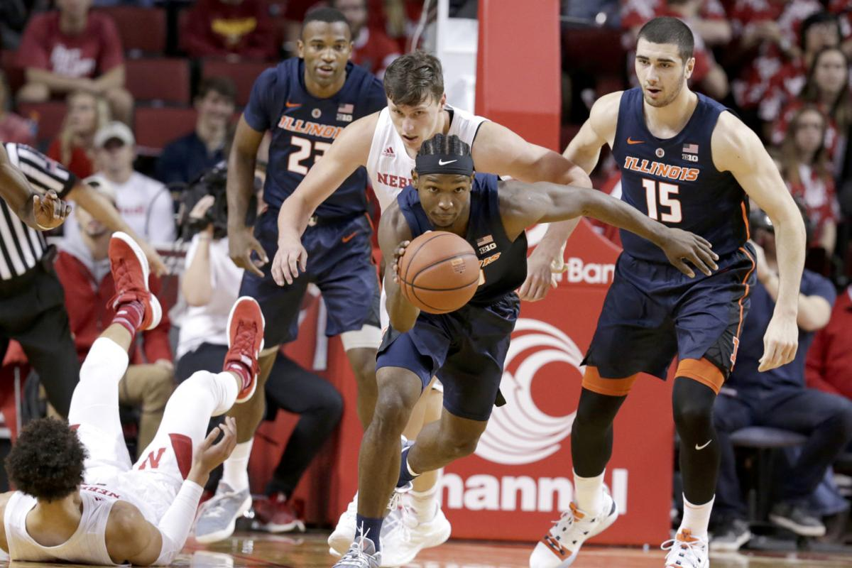 Illinois Nebraska Basketball
