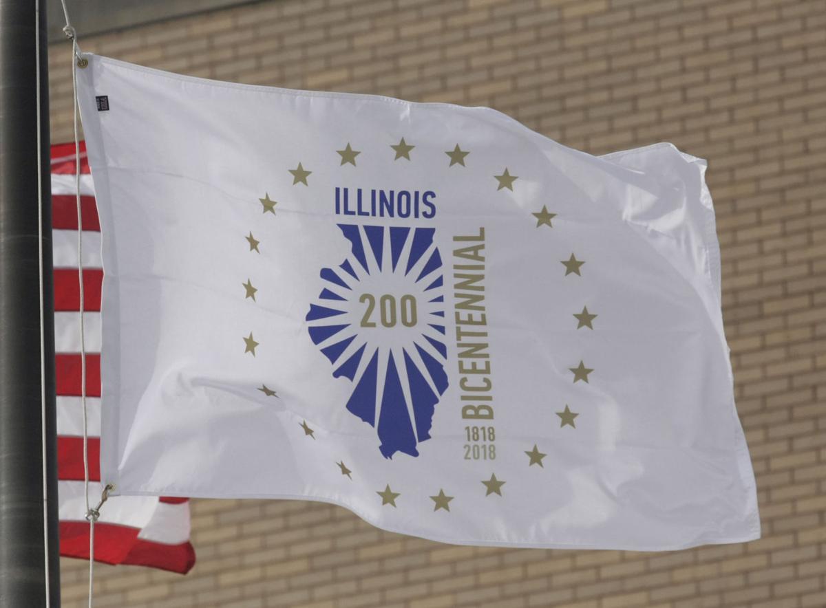 Illinois Bicentennial Flag 12.4.17