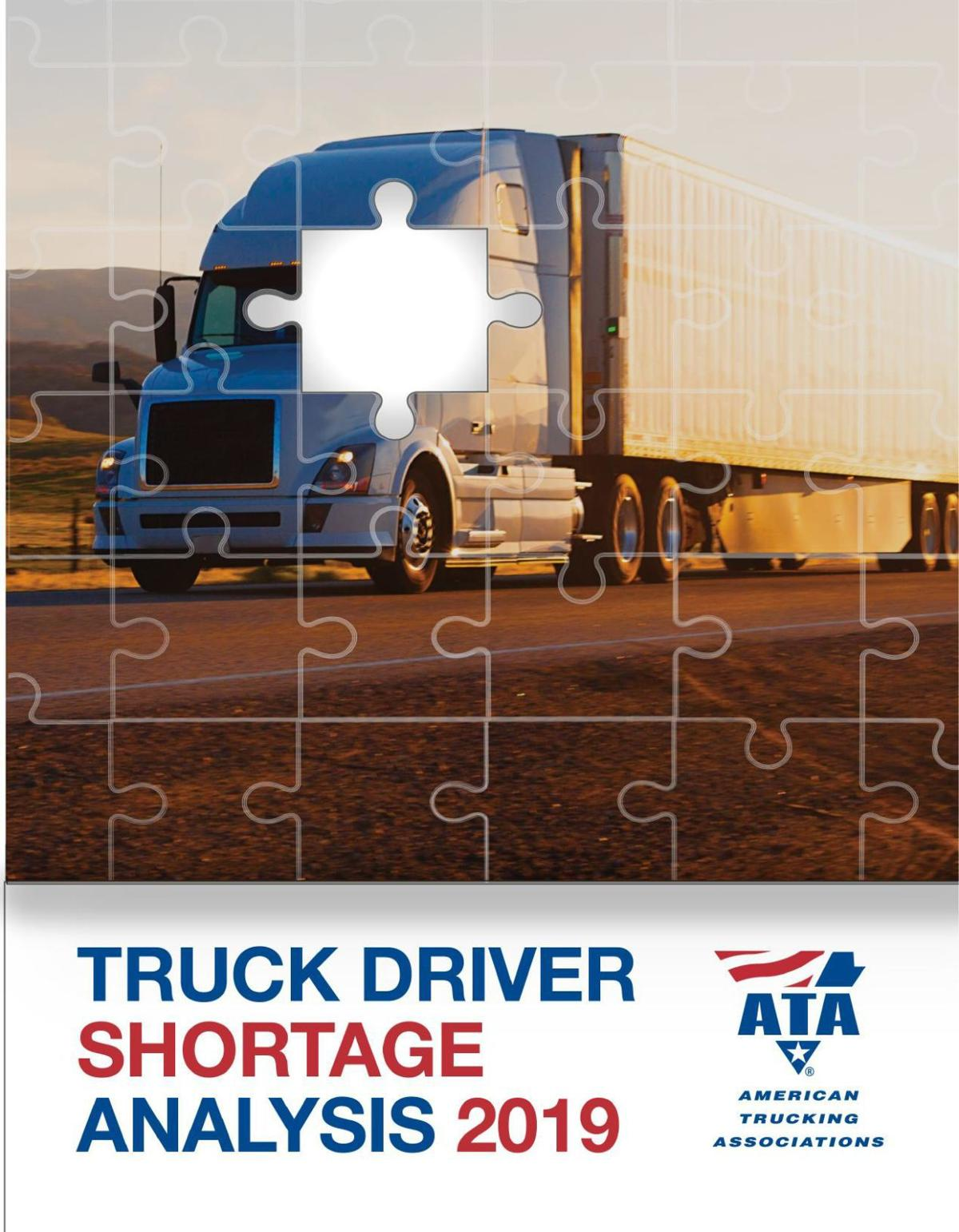Truck Driver Shortage report