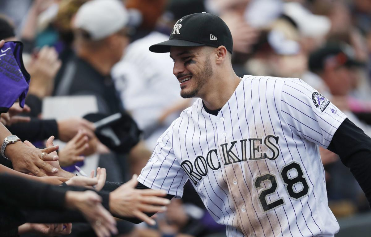 Rockies Arenado Baseball