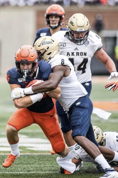 Akron Illinois Football